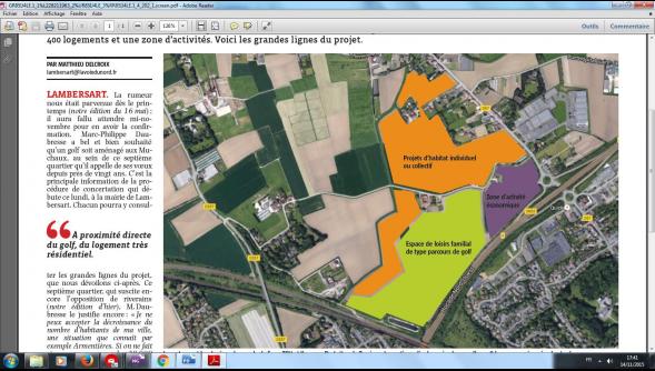 Les projets des Muchaux à Lambersart et du site Caby à Saint-André feront l'objet d'enquêtes publiques en 2016.