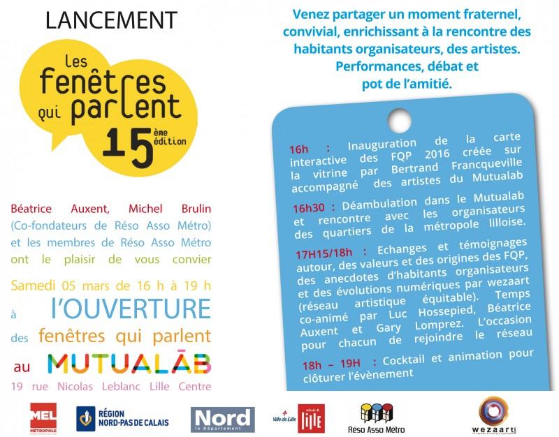 Invitation Ouverture des fQP 2016