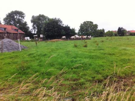 Au Muchaux, côté Lambersartois, 80 % de cette exploitation agricole devraient disparaitre
